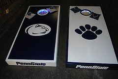 penn state corn hole   ... newest photos by Chi-town custom cornhole boards - Flickr Hive Mind