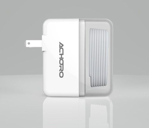 Dual usb port wall charger charging cable for iphone ipad 2 in 1 dual usb port wall charger charging cable for iphone ipad 2 in 1 greentooth Gallery