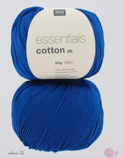 laine Bleu de cobalt RICO