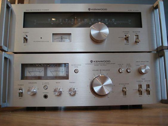 vintage stereo ampli ka 5500 et tuner kt 5300 kenwood 110 w rms hifi pinterest vintage. Black Bedroom Furniture Sets. Home Design Ideas