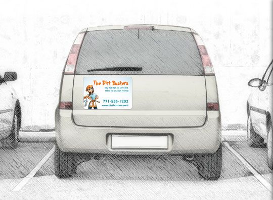 Car Magnets Magnetic Signs Car Door Magnets Vistaprint Smart - Custom car magnets large