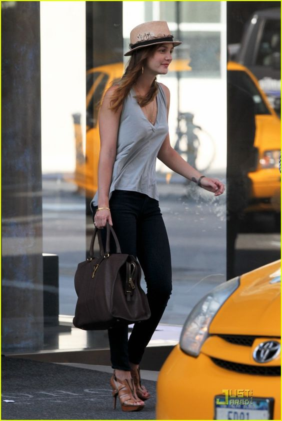 Leighton Meester: Spring in NYC