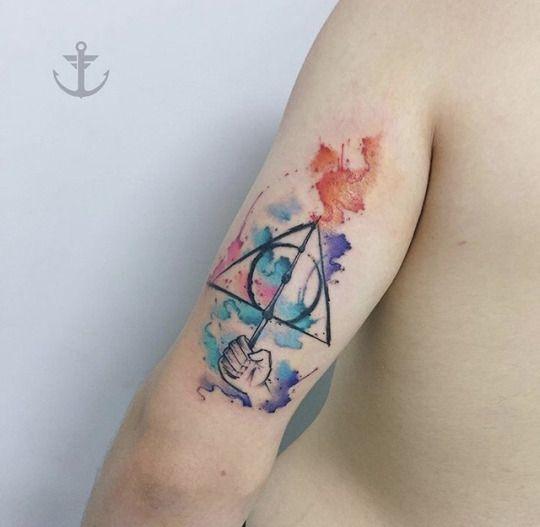 22 Magical Harry Potter Tattoos Harry Potter Tattoos Magic Tattoo Tattoos For Guys