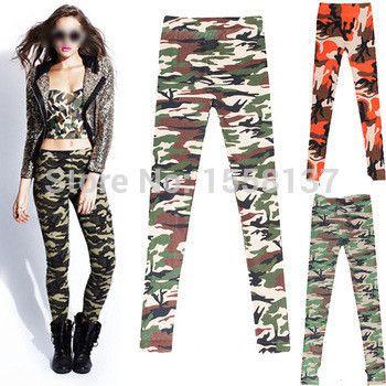 Cheap Leggings, Buy Directly from China Suppliers: 2015 New Fashion Women Pants Graffiti Style Stretch Army Camouflage Woman Leggings Trouser Slim Pants Leggins Glrls Leg