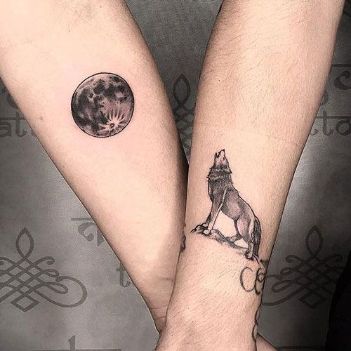101 Best Matching Couple Tattoos That Are Cute Unique 2020 Guide In 2020 Wife Tattoo Matching Couple Tattoos Best Couple Tattoos