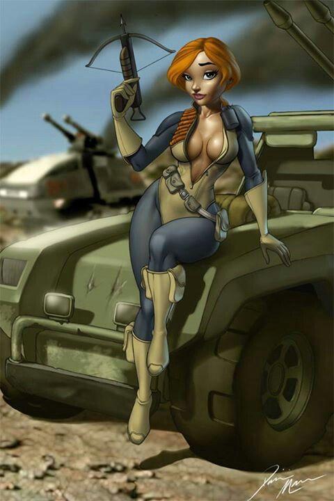 G.I. Joe - Scarlet by Dominic Marco