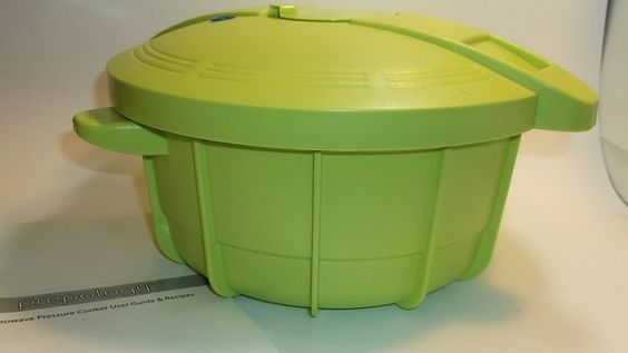 MINT Prepology 4qt Microwave Pressure Cooker W/ Manual Recipes LIME GREEN #Prepology