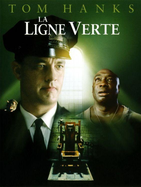 LA LIGNE VERTE. DARABONT. 2000 : adapté de Stephen King. Un conte dérangeant, une belle mise en scène, Tom Hanks excellent