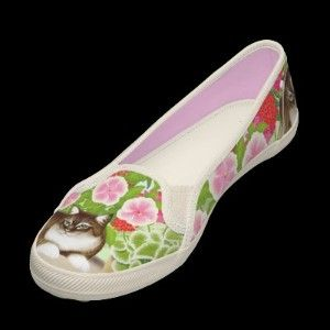 Maine Coon Garden Cat Keds Shoe