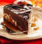 Recette Torte au chocolat, au caramel et aux pacanes - Coup de Pouce