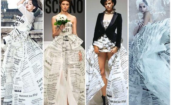 【Same or Not】不是在辦家家酒:Moschino 白色糖果紙婚紗禮服 Look×9 | FLiPER MAG