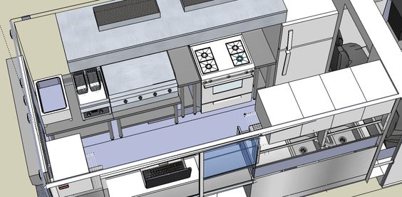 Design concept for food truck hayley 39 s big baps for Cuisine sketchup 8