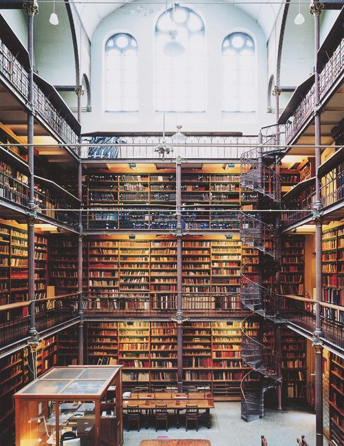 Rijksmuseum Research Library, Amsterdam, Netherlands.