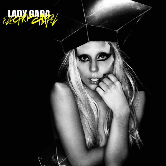 Lady Gaga – Electric Chapel (single cover art)