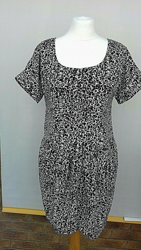 Dorathy Perkins Dress Size 12 Black White Smart Summer Holiday Fashion Clothing Shoes Accessories Womensclothing Dresses Ebay Link Summer Dresses Uk Navy Blue Midi Dress Dresses