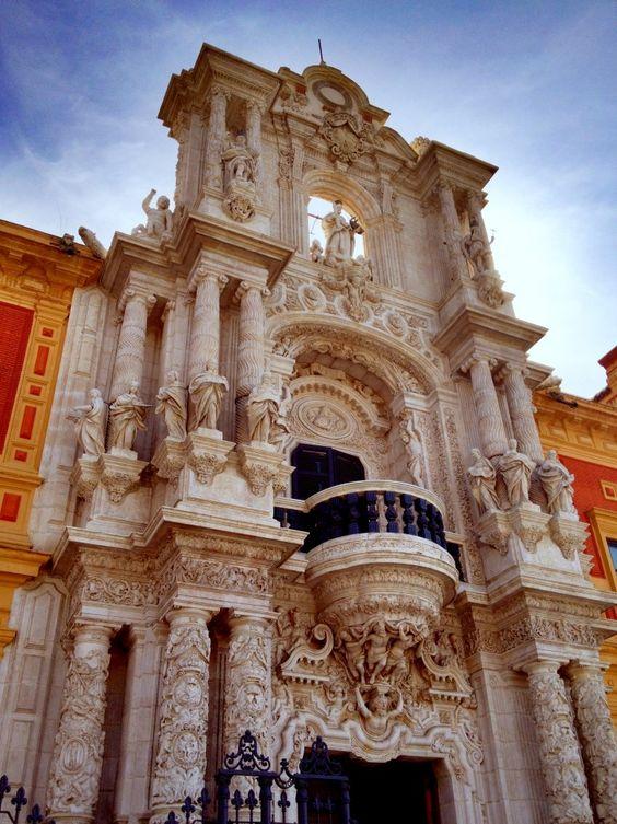 Palacio de San Telmo. Sevilla. ESPAÑA
