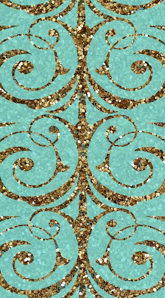 gold antler wallpaper - photo #35