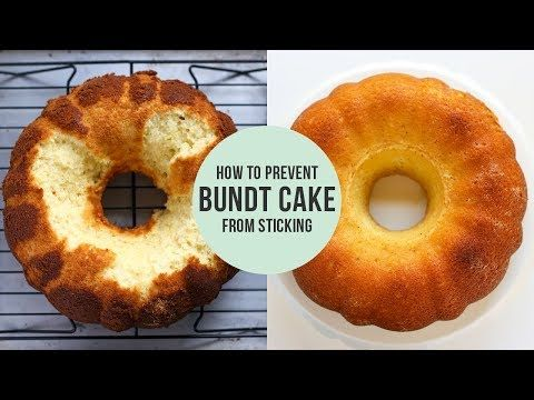 My Tips And Tricks For How To Prevent Bundt Cake From Sticking