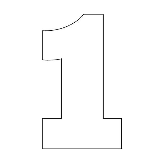 Number Stencils Free Printable Number Stencils 1 Found