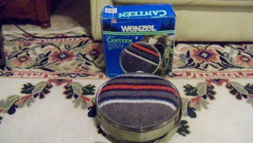 Vintage Wenzel Canteen 4 Quart Wool Blanket Camping in Original Box Scouting   eBay $7.99