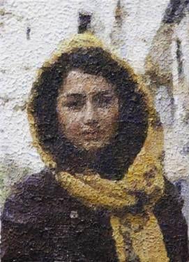 "Saatchi Art Artist Rachel Sharp; Painting, ""Woman in Iran"" #art"