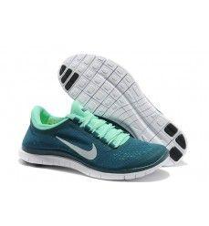 Nike Free 3.0 V5 Homme Soldes Deep Vert Paris-20