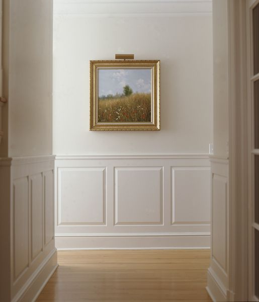 Simple paintings panelling and tray ceilings on pinterest for Examples of wainscoting
