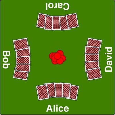Mesa de póquer.-Draw-poker-table - Póquer