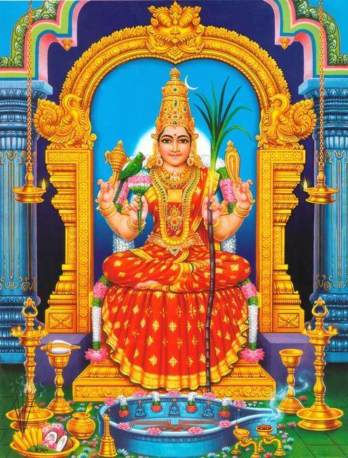 Sri Lalitha Sahasranamam 1000 Names Of Goddess Lalitha From Brahmanda Purana Shakti Goddess Female Gods Hindu Deities