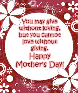 Wishing each and every mother a day filled with blessings. Find this and more FREE ecards at www.lutheransonline.com/ecards