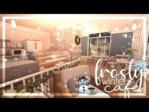 Bloxburg Frosty Winter Cafe No Gamepasses 35k