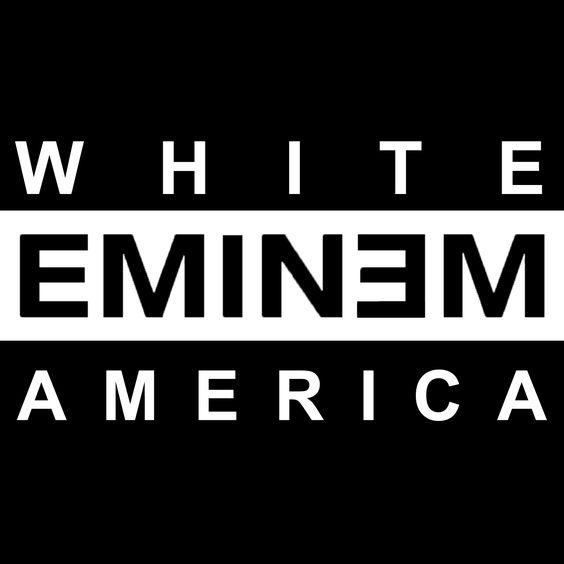 Eminem – White America (single cover art)