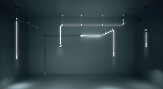 El Hydra dispersa la luz como el agua. La luz se mueve apagado desde un iluminador y se lleva a través de una fibra óptica a través del espacio a un terminal con un extractor que ajuste su emisión. El Hydra por lo tanto genera un sistema de distribución...