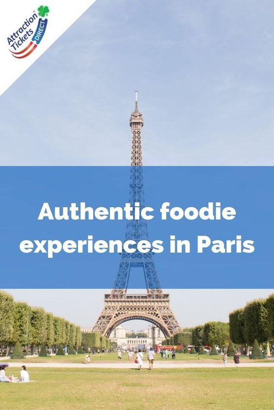Autenthic foodie experiences in Paris
