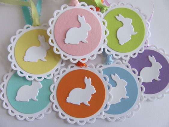 Easter Gift Tags,Happy Easter Tags,Spring Gift Tags, Happy Easter Tags, Easter Bunny Tags, Easter Favor Tags, Easter  Pastel Gift Tags