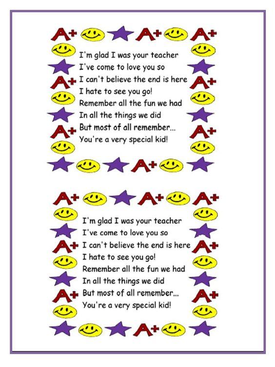 explore farewell poem poems for teachers and more poems for teachers ...