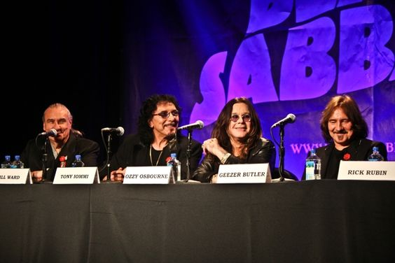 My shot of Black Sabbath on Rolling Stone...