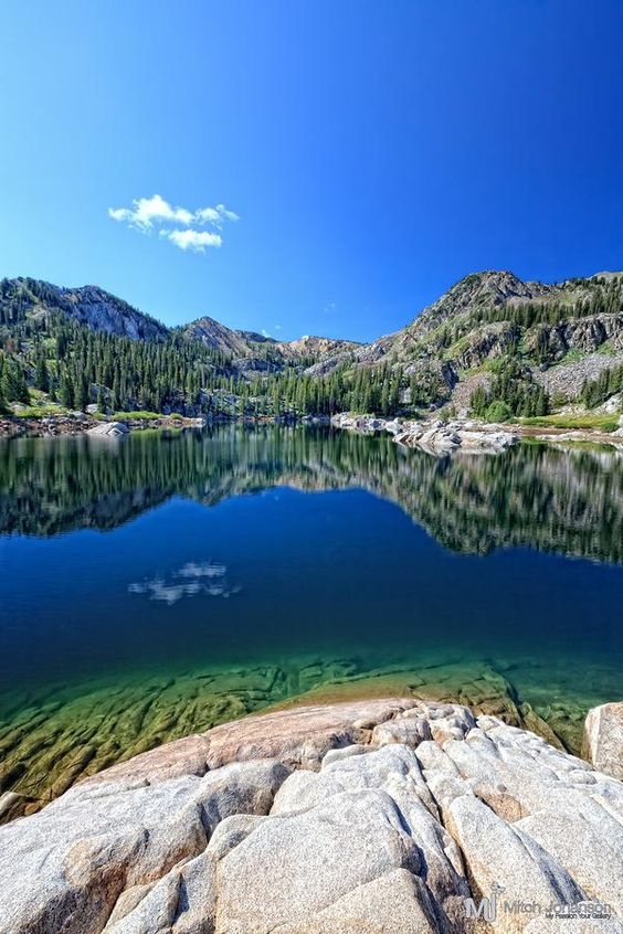 ✮ Lake Mary above Brighton Utah