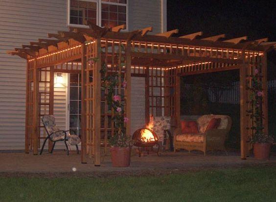 covered patio idea