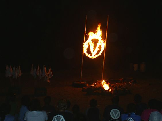 Flaming Circle V