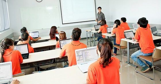 Giáo viên áp dụng công nghệ thông tin trong giảng dạy