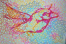 Bird in Lines