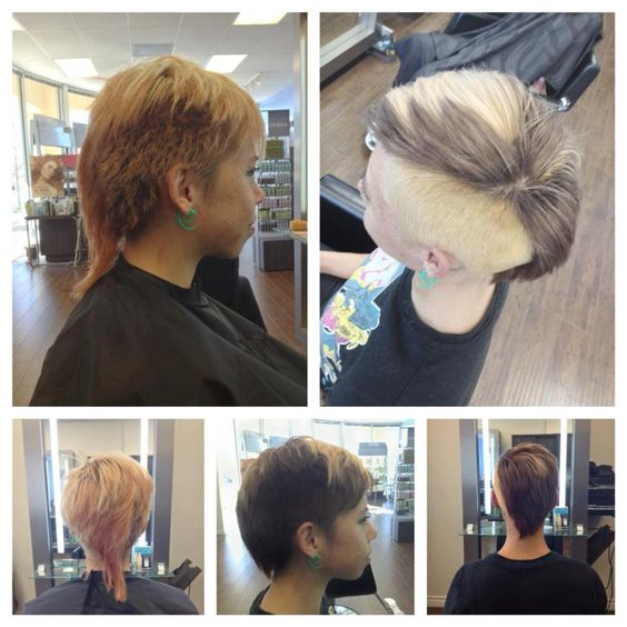 Cut color by danny jouglet aveda mohawk aveda salon for 3 brunettes and a blonde salon
