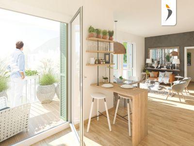 Kalbacher Höfe - Frankfurt a. M.-Kalbach-Riedberg - PROJECT Immobilien Frankfurt - Neubau-Immobilien Informationen
