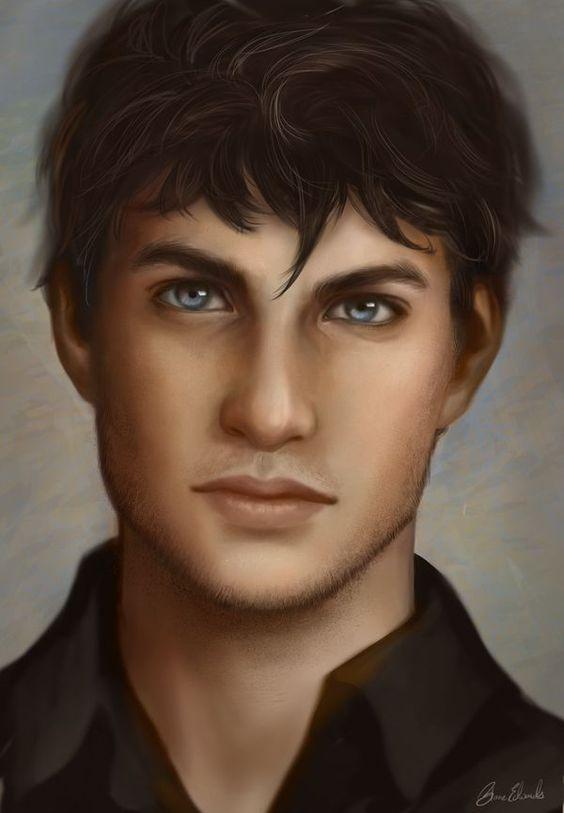 male portrait drawing digital - Google Search