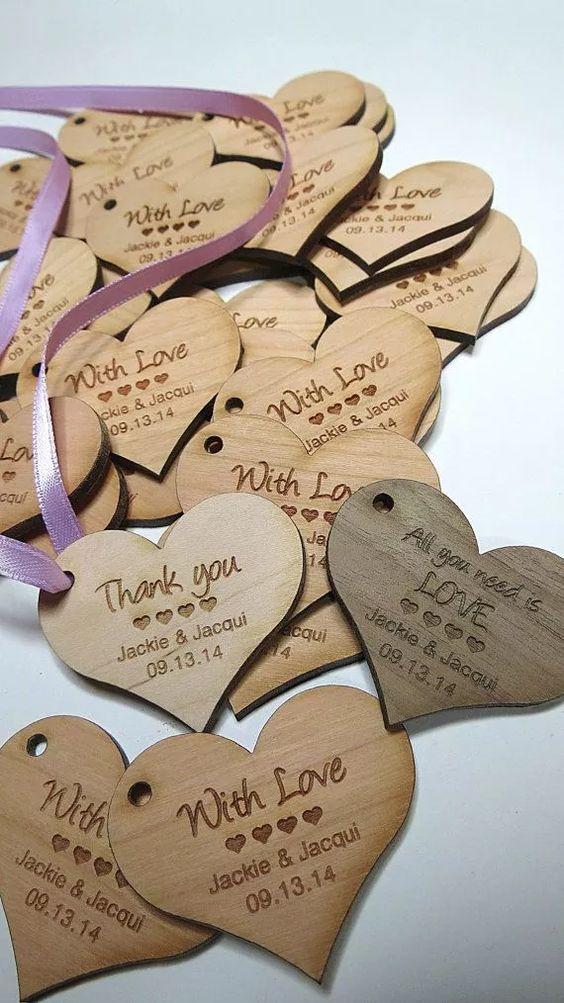 coração de madeira