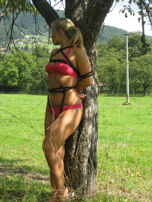 outdoor bondage big porno