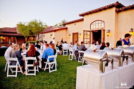 Maderas Golf Club San Diego - Reception on Del Lago Garden