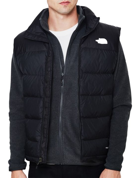 New In | The North Face Nuptse 2 Vest in Grey | Shop all men's clothing at The Idle Man