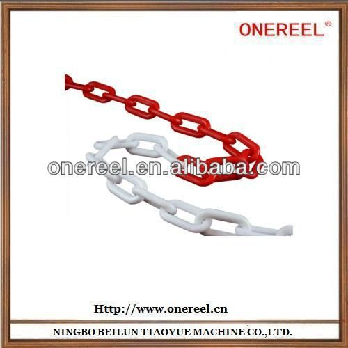 Plastic chain  1.various colors available.  2.Color and size can be according to customers   3.High quality plastic chain